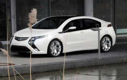 Opel Ampera est une voiture électrique