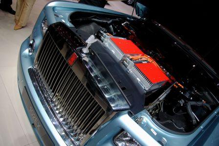 Concept Car Rolls Royce 102EX de voiture électrique au salon de Genève 2011