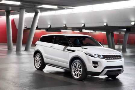 Land Rover Evoque coupé