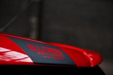 Citroen DS3 racing Loeb Les belles couleurs avec un beau rouge
