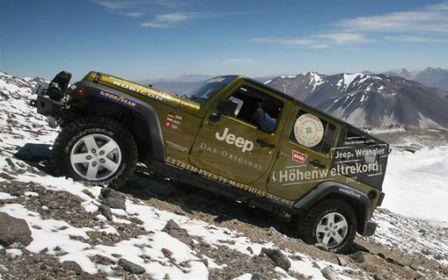 Jeep Wrangler série limitée Mountain
