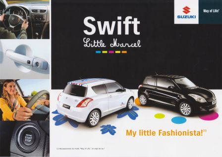 Suzuki Swift série spéciale Little Marcel
