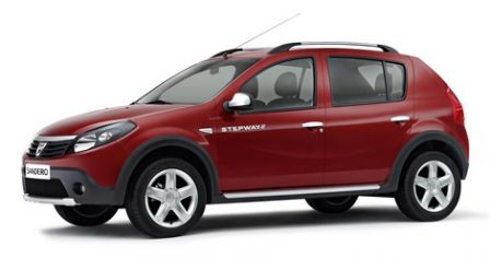 Nouvelle Dacia Sandero Stepway 2012