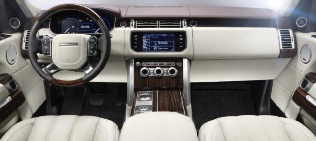 Range Rover 2013 4x4 de luxe tableau de Bord