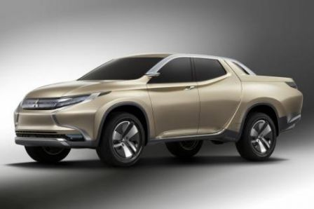 Le concept car du Pick Up mitsubishi hybride