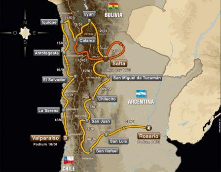 Dakar 2014 Etape 7 & Teaser