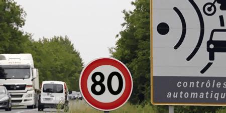 Limitation de la vitesse à 80 km/h et 70 km/h sur le périphérique