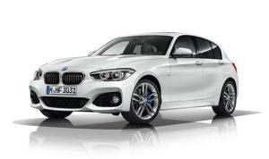 Nouvelle face avant pour la BMW Série 1, phares full LED, calandre et pare-choc avant redessinés. 3p et 5p sont concernés par ce restylage.