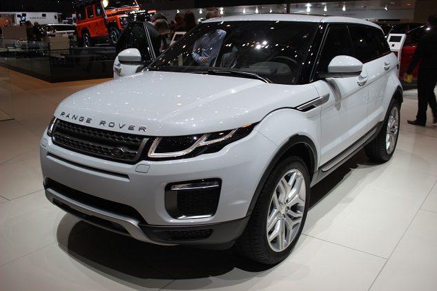 Land Rover Evoque restylé 2015 à partir d'Aout 2015 et 42000€