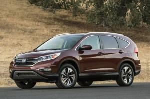 Face à ses concurrents Mazda, Toyota, et Volkswagen le Honda CR-V 2015 affiche le malus le moins élevé