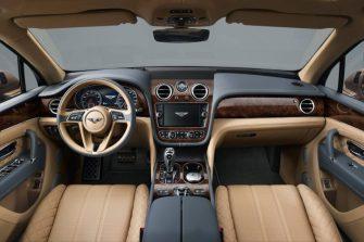 la Bentley Bentayga sera présenté au salon de Francfort.