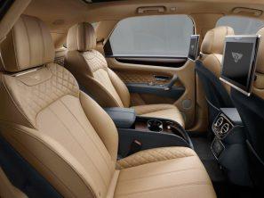 Sièges arrières SUV Bentley Bentayga