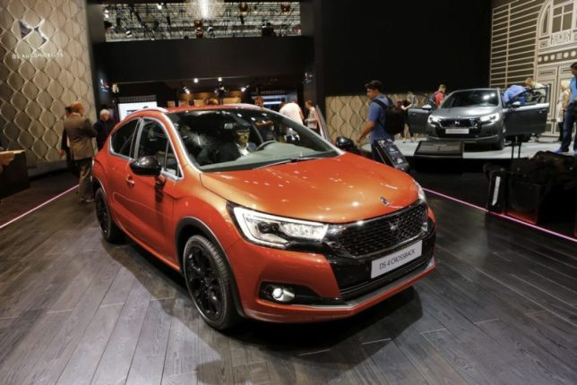 DS 4 Croosback au salon de Francfort 2015.