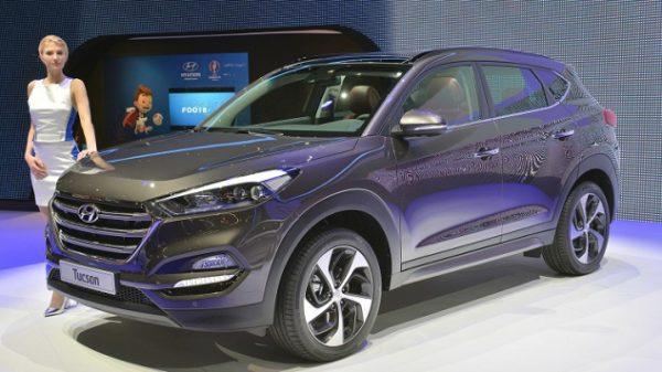 Hyundai Tucson avant
