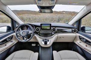 Essai Mercedes Classe V 220 CDI planche de Bord