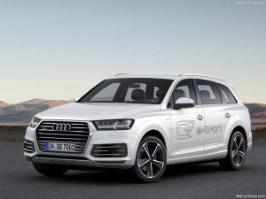 Audi Q7 e-tron 2016