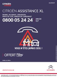 Citroen Assistance XL 7 ans Offerte