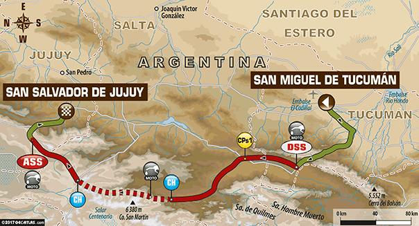 Troisième étape du Dakar 2017 Triplé des Peugeot Peterhansel Sainz et Loeb