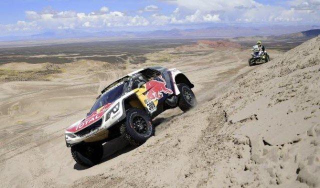 Sebastien Loeb remporte sa deuxième victoire lors de la cinquième étape du Dakar 2017