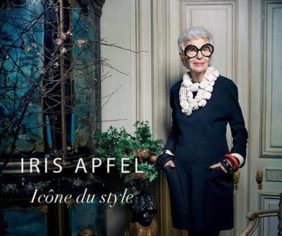 Publicité nouvelle DS3 avec Iris Apfel