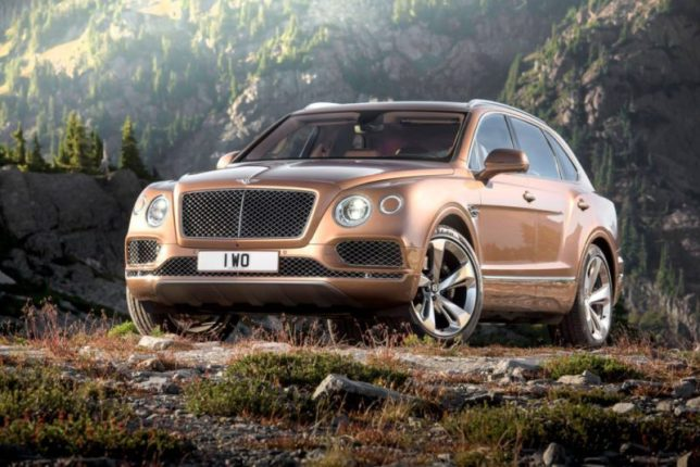 SUV Bentley Bentayga