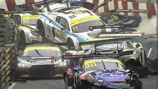 Un accident monstre au GP FIA GT de Macao