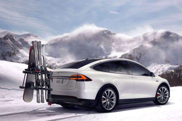 Meilleures voitures pour la neige Tesla Modèle X