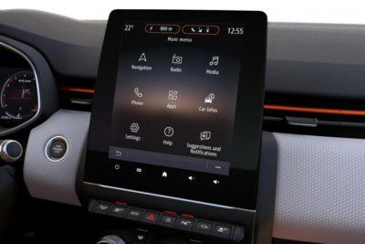 Renault Clio 5 écran tactile