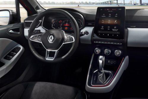 Renault Clio 5 vue intérieure