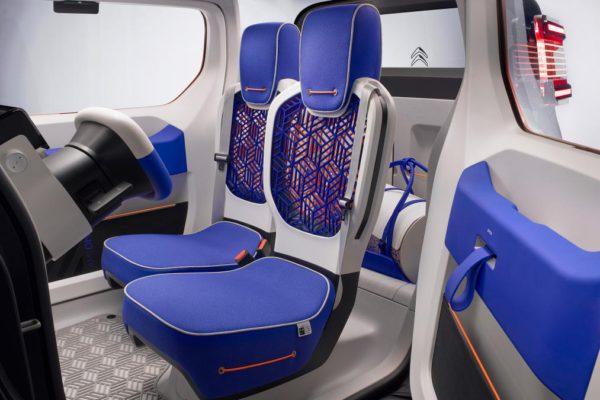 Les sièges Citroen Ami One