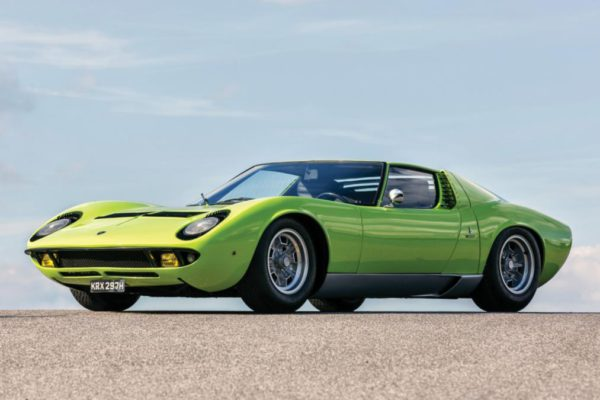 Top 10 des voitures Cool : Lamborghini Miura