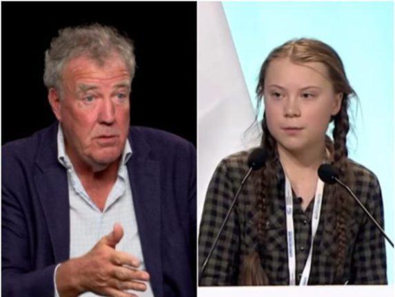 """L'ancien animateur de """"Top Gear"""" Jeremy Clarkson a traité Greta Thunberg de """"folle et dangereuse"""" dans sa dernière tirade contre l'activiste climatique de 16 ans."""