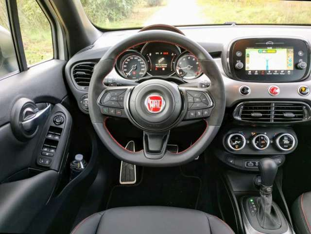 Fiat 500X - tableau de bord