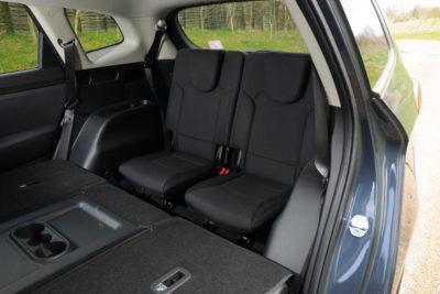 Carens Kia d'occasion - sièges arrière