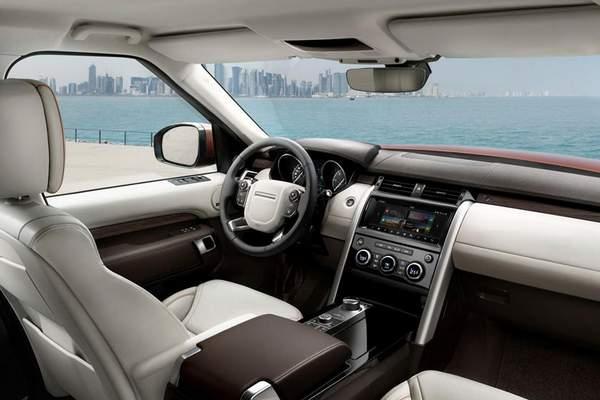 Intérieur du Land Rover Discovery