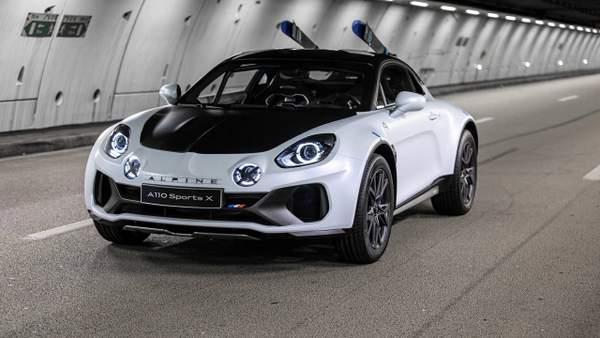 L'Alpine A110 Sports X présentée au Festival international de l'automobile de 2020