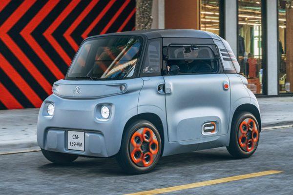 La nouvelle citadine Citroën ami entièrement électrique est dévoilée