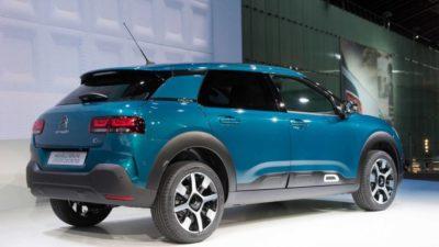 Citroën C4 Cactus - arrière