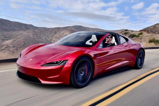 Tesla Model S voiture électrique rapide