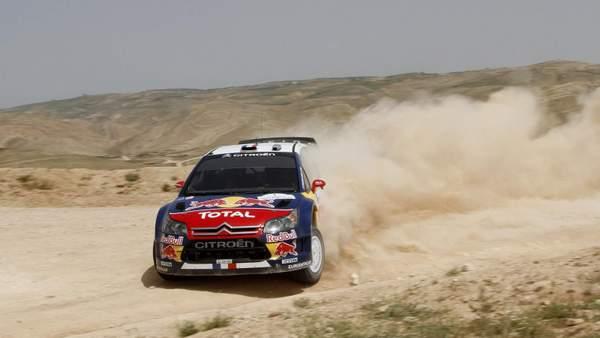 Dani Sordo très fair-play donne une belle image de Citroën