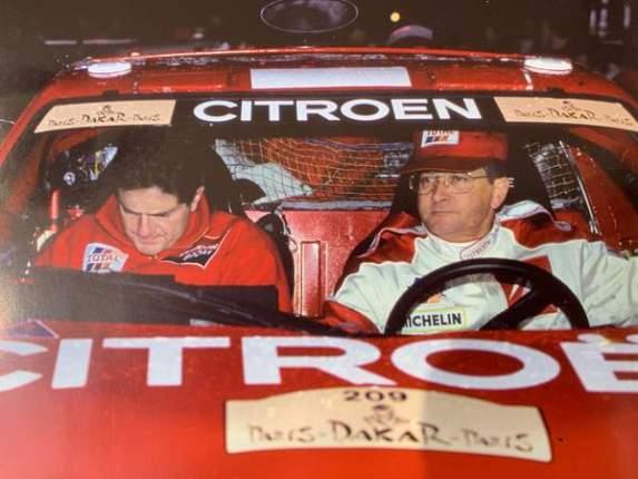 Michel Périn copilote de rallye a formé un duo efficace en rallye Raid avec Citroen et Pierre Lartigue sur ZX