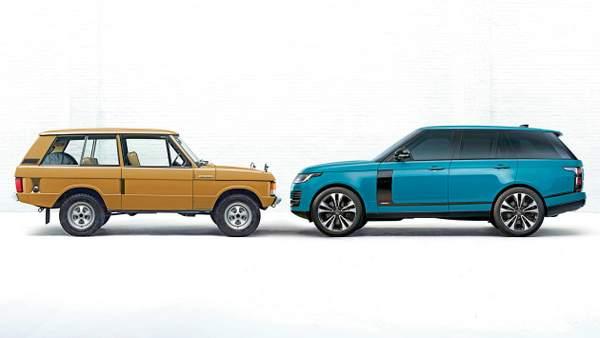 Célébration du 50e anniversaire du Range Rover