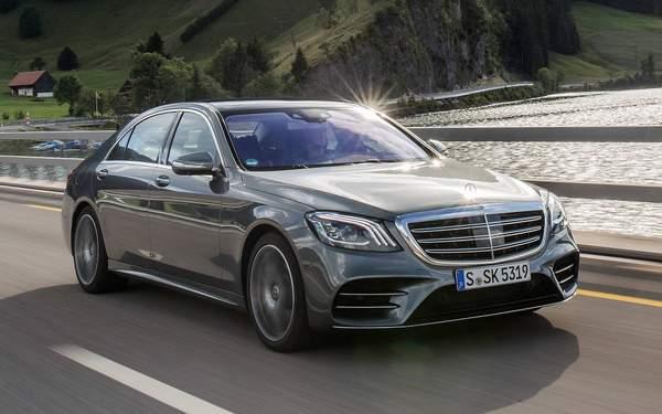 Mercedes Classe S meilleure voiture de luxe