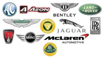 Marques de voitures Britanniques