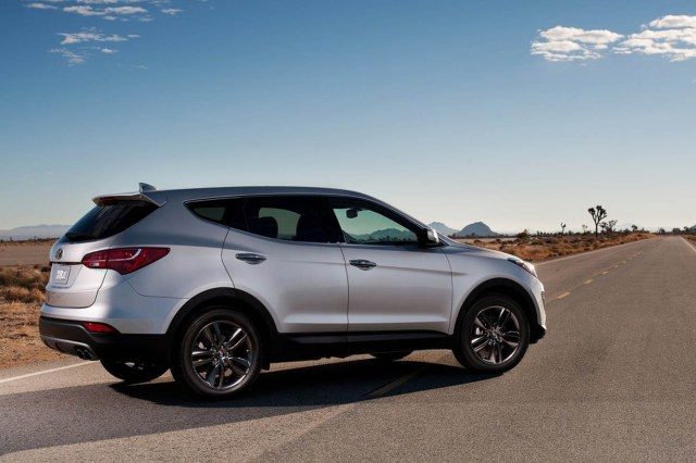 Nouveau Hyundai Santa Fe 2012