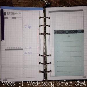 Week 51 Wednesday Before Shot