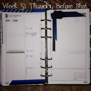 Week 51 Thursday Before Shot