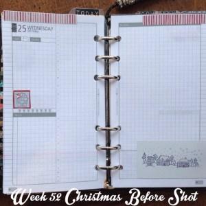 Week 52 Christmas Before Shot