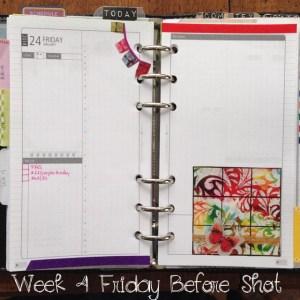 Week 4 Friday Before Shot