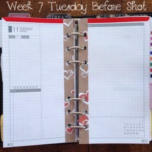 Week 7 Tuesday Before Shot